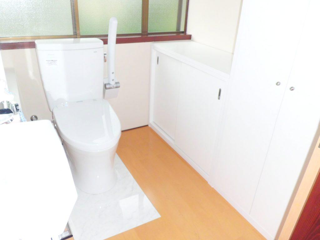 南砺市 トイレ、バス、キッチン、洗面脱衣室改修工事【10004】