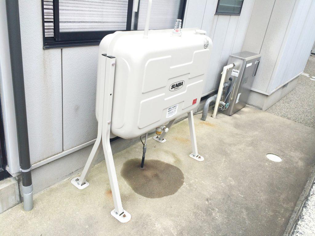 砺波市 オイルタンク交換工事【10044】