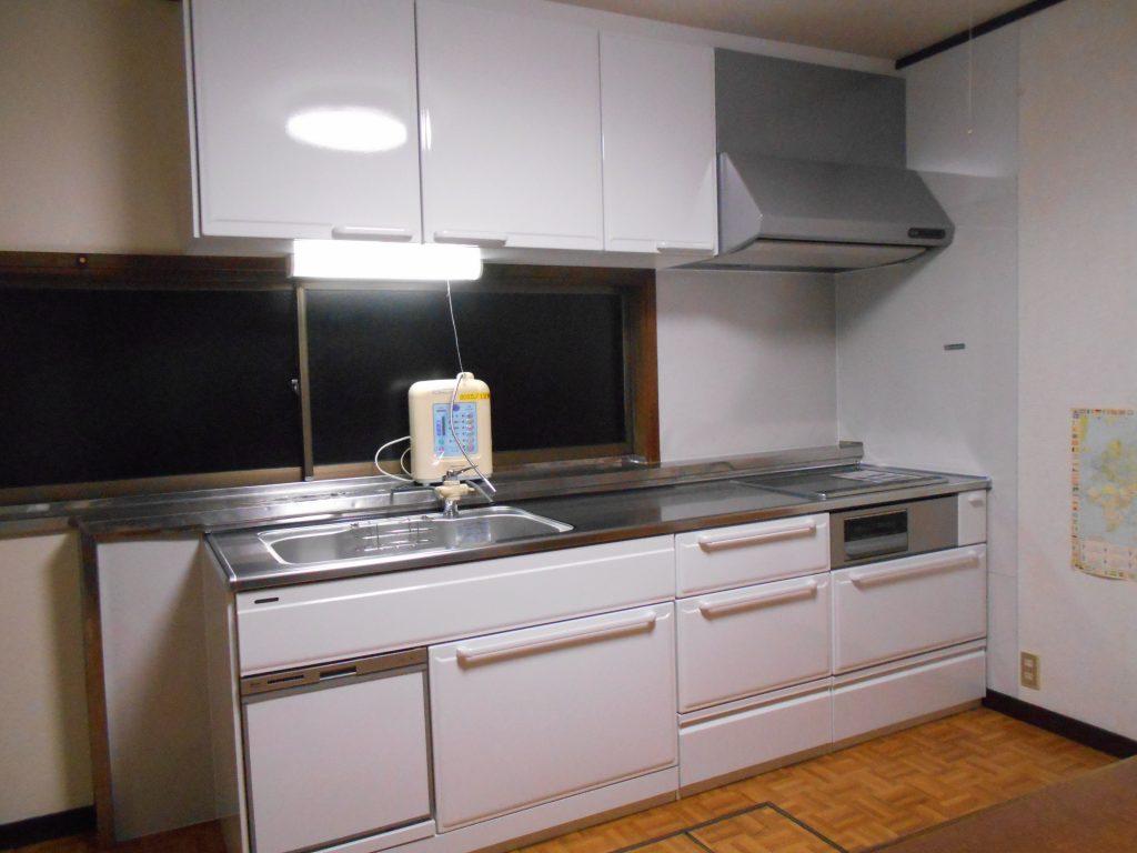 キッチン改修、洗面台取替工事【10078】