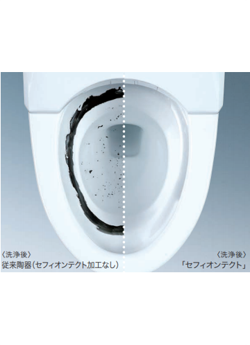 TOTO ピュアレストQR+ウォシュレットS1