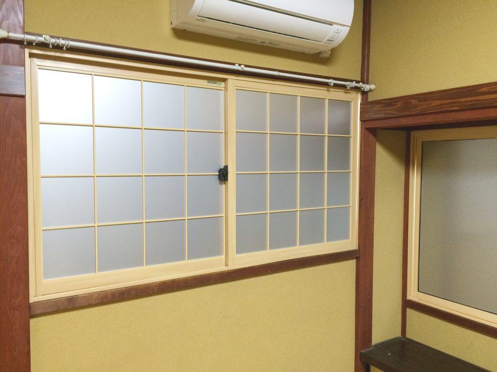 砺波市 内窓取付工事(日光遮断目的)【10032】