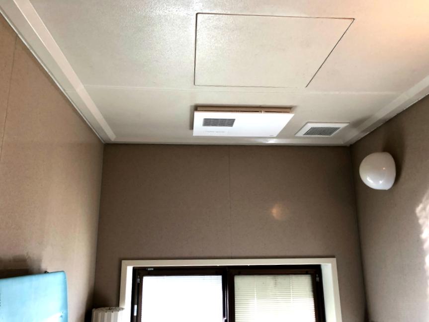 高岡市 浴室換気暖房乾燥機設置工事【10096】