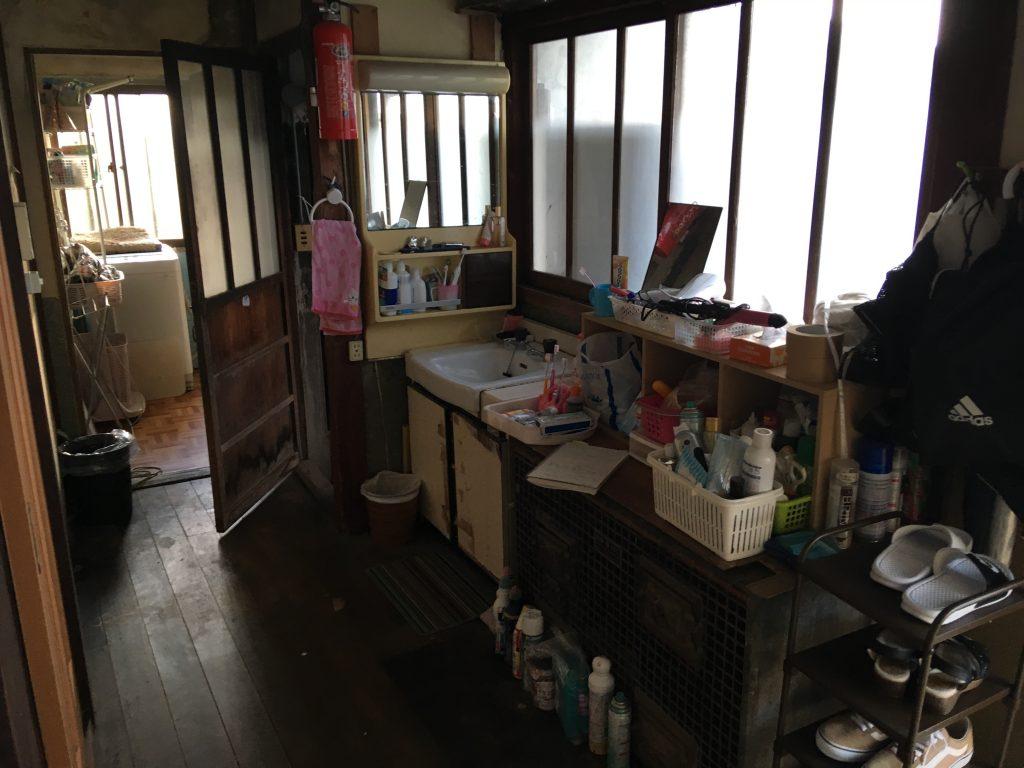 砺波市 脱衣室改修工事【10101】
