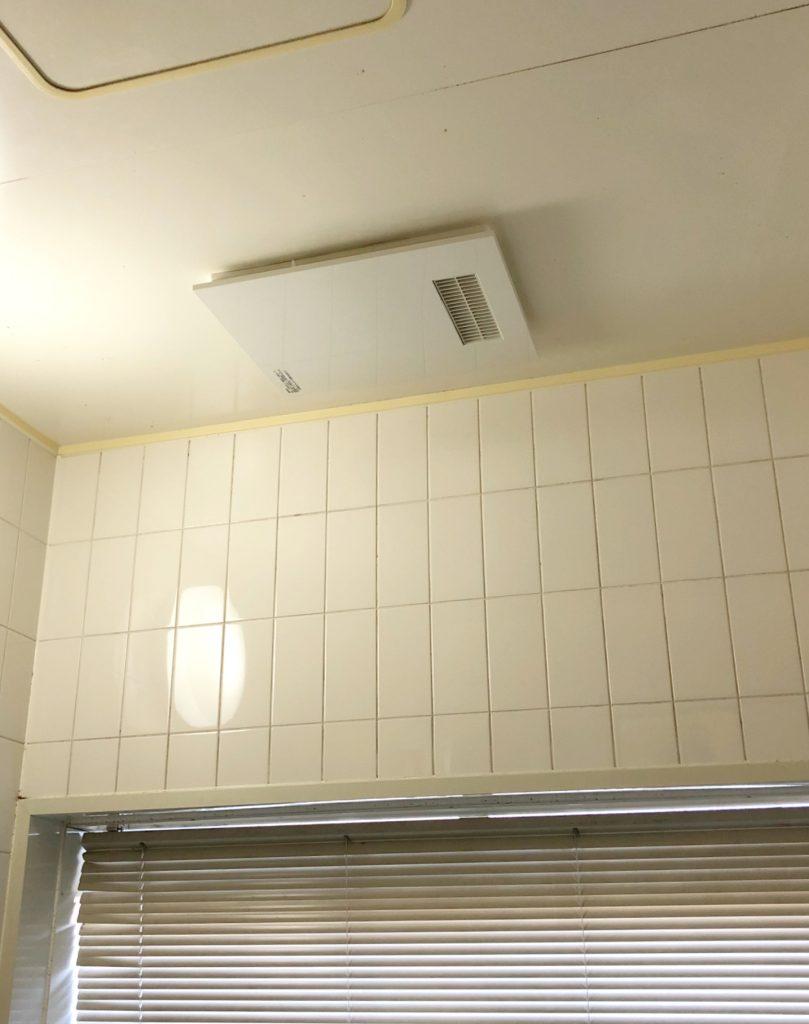 砺波市 浴室換気乾燥暖房機取付工事【10119】