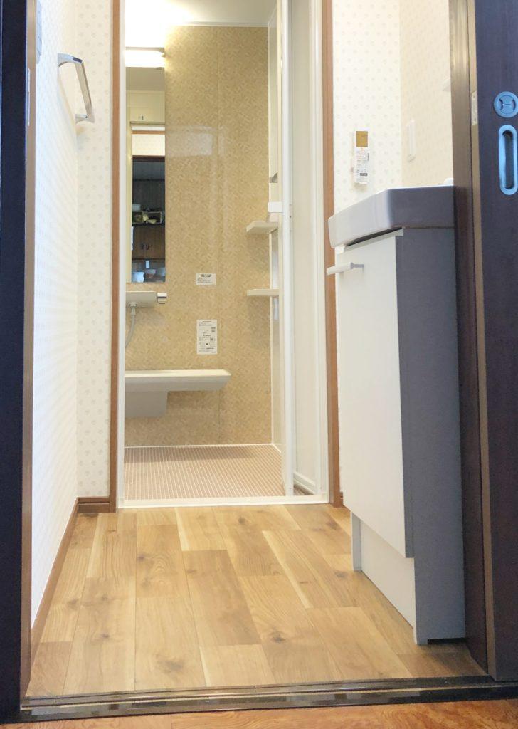 南砺市 お風呂(タイル→ユニット)、脱衣所改装工事など【10121】