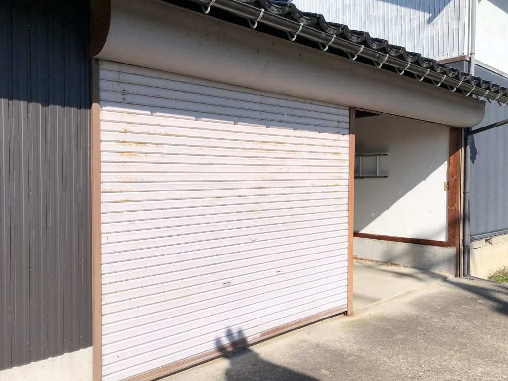 砺波市 電動シャッター取替工事【10125】