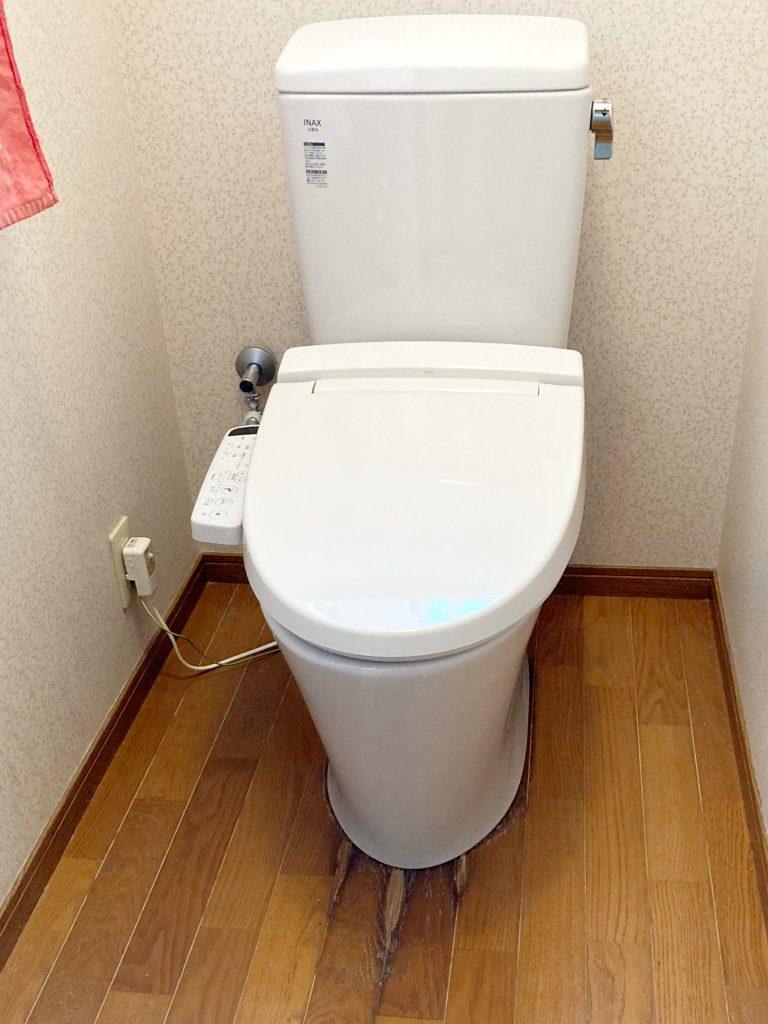 富山市 トイレ取替工事【10136】